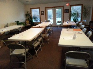 event room classroom