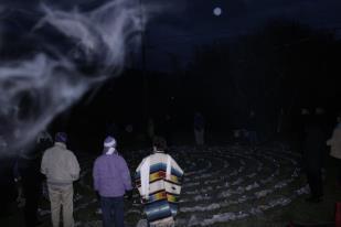 Spirit Being at enlivening celebration